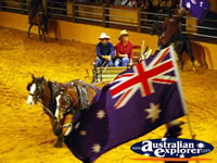 Australian Outback Spectacular Horse and Cart . . . CLICK TO ENLARGE