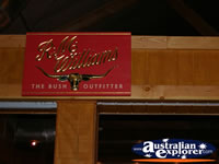 Australian Outback Spectacular Signs . . . CLICK TO ENLARGE