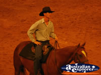 Australian Outback Spectacular Cast Member . . . CLICK TO ENLARGE