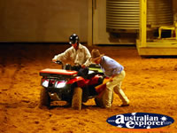 Australian Outback Spectacular Quad bike . . . CLICK TO ENLARGE