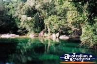 Babinda Boulders Swimming Hole And Trees . . . CLICK TO ENLARGE