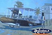 Bowen Wall Mural Airplane . . . CLICK TO ENLARGE