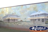 Bowen Wall Mural Hotel Scene . . . CLICK TO ENLARGE