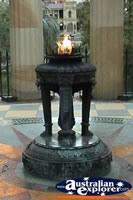 Brisbane Anzac Square Eternal Flame . . . CLICK TO ENLARGE