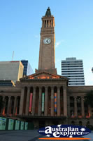 Clock Tower Brisbane . . . CLICK TO ENLARGE