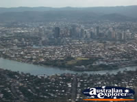 Brisbane from the Air . . . CLICK TO ENLARGE