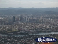 Looking Over Brisbane from the Sky . . . CLICK TO ENLARGE
