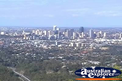 View of Brisbane from Mt Coot Tha Lookout . . . VIEW ALL BRISBANE (MT COOT-THA) PHOTOGRAPHS