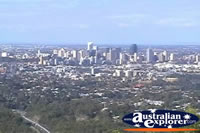 View of Brisbane from Mt Coot Tha Lookout . . . CLICK TO ENLARGE