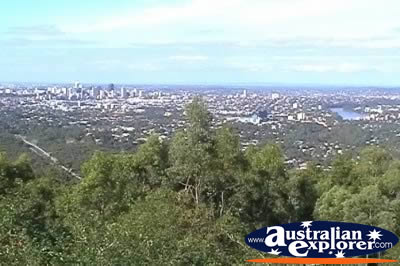 Brisbane Scenery from Mt Coot Tha Lookout . . . VIEW ALL BRISBANE (MT COOT-THA) PHOTOGRAPHS
