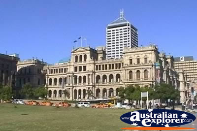 Brisbane Treasury Casino . . . CLICK TO VIEW ALL BRISBANE POSTCARDS