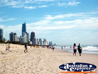 Lovely Beach in Broadbeach . . . CLICK TO ENLARGE