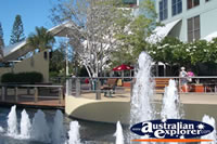 Broadbeach Fountain In Shopping Mall . . . CLICK TO ENLARGE