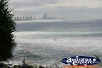 Surf Condition at Burleigh . . . CLICK TO ENLARGE