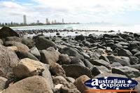 Rocks at Burleigh . . . CLICK TO ENLARGE
