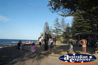 People Enjoying Burleigh Heads Beach . . . CLICK TO ENLARGE