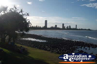 Burleigh Heads Beach View . . . VIEW ALL BURLEIGH HEADS (BEACH) PHOTOGRAPHS