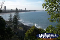 Beautiful View over Burleigh Heads . . . CLICK TO ENLARGE