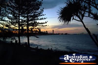 Night Sky over Burleigh Heads Beach . . . CLICK TO ENLARGE