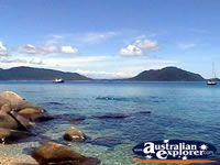 View of Fitzroy Island . . . CLICK TO ENLARGE