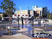 Caloundra - Kings Beach Fountain . . . CLICK TO ENLARGE
