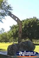Charters Towers Lissner Park Monument . . . CLICK TO ENLARGE
