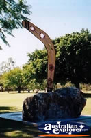 Charters Towers Lissner Park Monument Close Up . . . CLICK TO ENLARGE