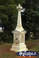 Cooktown Anzac Memorial . . . CLICK TO ENLARGE