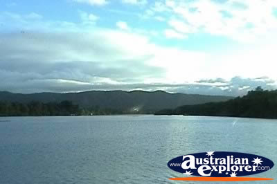 View Across Daintree River . . . CLICK TO VIEW ALL DAINTREE RAINFOREST POSTCARDS