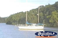 Boat On Daintree River . . . CLICK TO ENLARGE