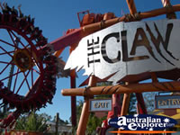 The Claw ride at Dreamworld . . . CLICK TO ENLARGE