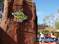 Entrance into Wild World at Dreamworld . . . CLICK TO ENLARGE