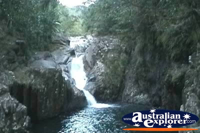 Finch Hatton Gorge Araluen Falls Frrom Distance . . . VIEW ALL FINCH HATTON GORGE PHOTOGRAPHS