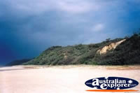 View Across Fraser Island 75 Mile Beach . . . CLICK TO ENLARGE