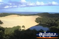 Fraser Island Lake Wabby View . . . CLICK TO ENLARGE