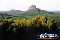 View Of Glass House Mountains . . . CLICK TO ENLARGE