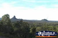 Glass House Mountains View . . . CLICK TO ENLARGE