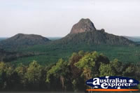 Glass House Mountains Close up . . . CLICK TO ENLARGE