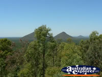 Beautiful View of Glasshouse Mountains . . . CLICK TO ENLARGE