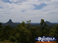 Glasshouse Mountains . . . CLICK TO ENLARGE