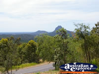 Glasshouse Mountains Lookout . . . CLICK TO ENLARGE