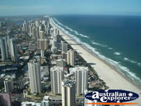 View from Q1 in Surfers Paradise . . . CLICK TO ENLARGE