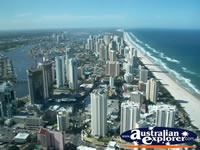 View of Gold Coast City from Q1 . . . CLICK TO ENLARGE