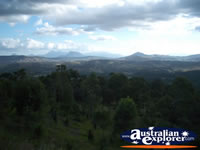 View of the Gold Coast Hinterland . . . CLICK TO ENLARGE