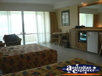 Bedroom in Accommodation on Hamilton Island . . . CLICK TO ENLARGE