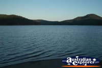 View of Hinze Dam - Gold Coast Hinterland . . . CLICK TO ENLARGE