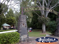 Kenilworth Town Park Entrance . . . CLICK TO ENLARGE