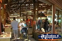 Heritage Markets in Kuranda  . . . CLICK TO ENLARGE