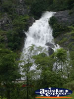 View of Waterfall from Kuranda Scenic Railway . . . CLICK TO ENLARGE