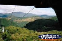 Riding on the Kuranda Skyrail . . . CLICK TO ENLARGE